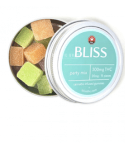 Bliss Edibles Party Mix 300mg